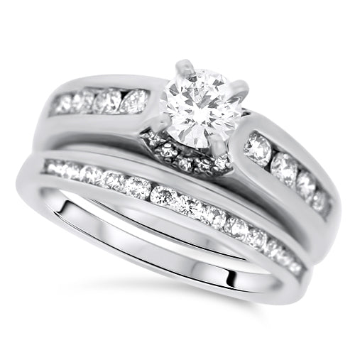 Diamond Engagement Set