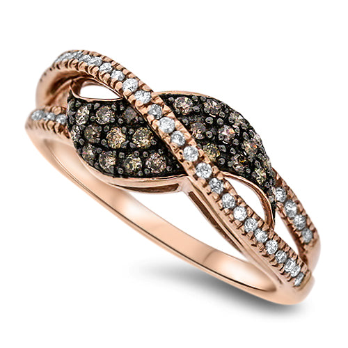 Chocolate Diamond Fashion Ring