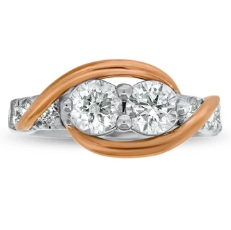 """Ever Us"" Diamond Ring"