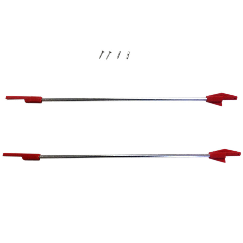 GS-11S - Aluminum Rod Set Replacement (2) 2 ft.