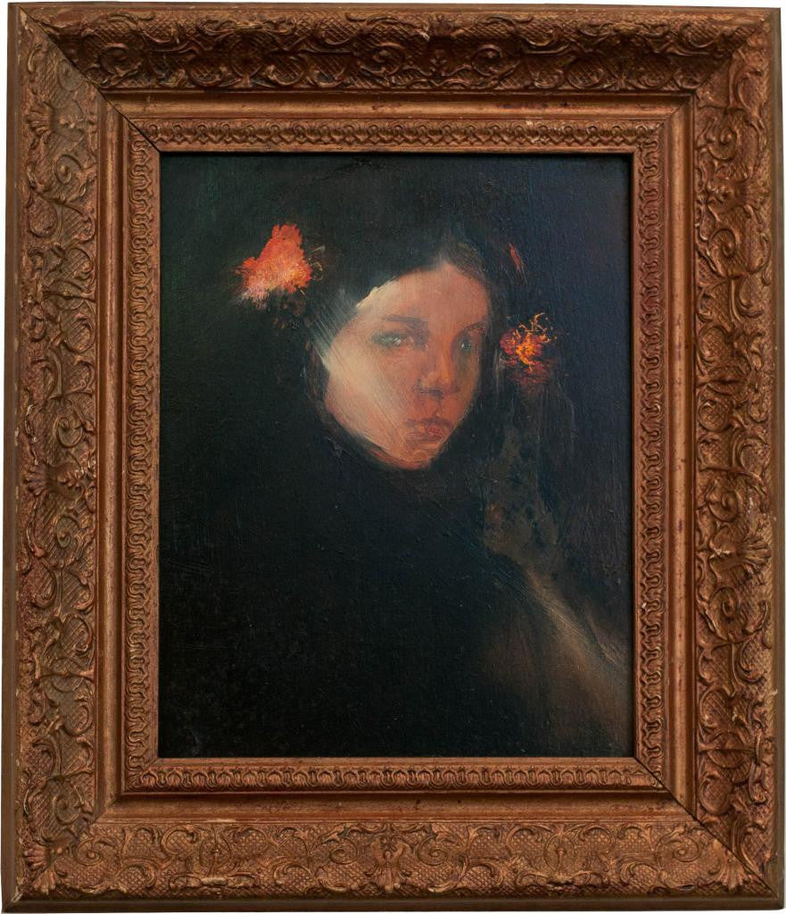 She Wore Roses In Her Hair - Maurice Sapiro