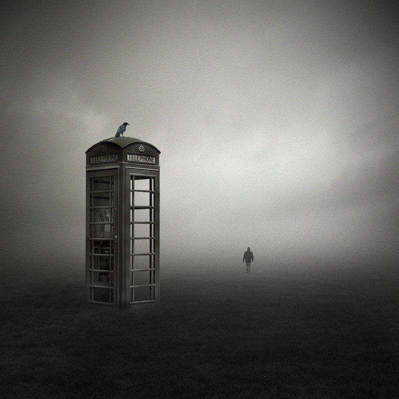 Nobody Home - Philip McKay (Print)