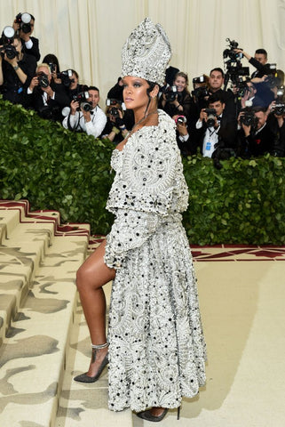 d91e5c55e3ff Rihanna wearing John Galliano Only RiRi would turn up as Pope and make us  want to convert rhi-ligion. She ticked every box of the dress code and gave  us a ...