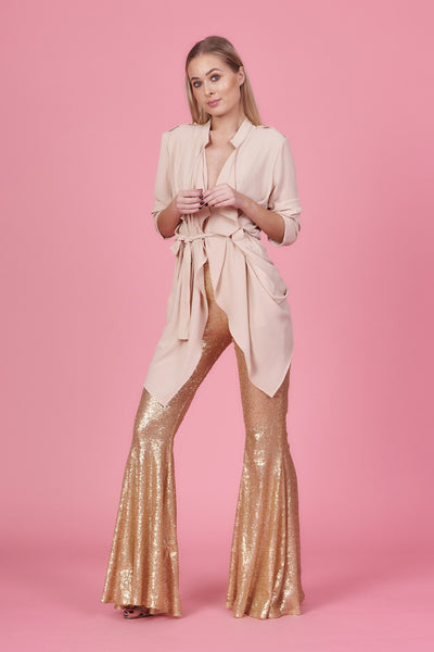 Matt Gold Stretch Flares