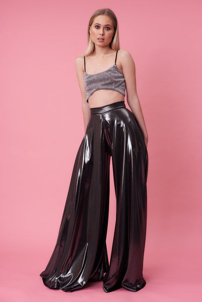 Silver Circle Statement Flares