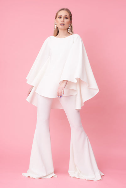 Ivory Longer Length Taba Suit