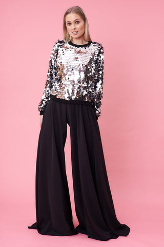 Black Circle Statement Flares