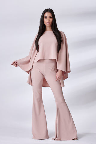 Dusty Pink Taba Suit
