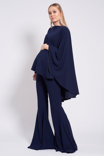 Navy Maternity Taba Suit