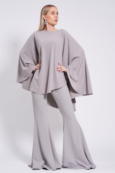 Silver Longer Length Taba Suit