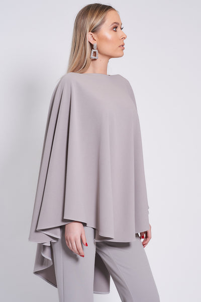 Silver Longer Length Taba Top