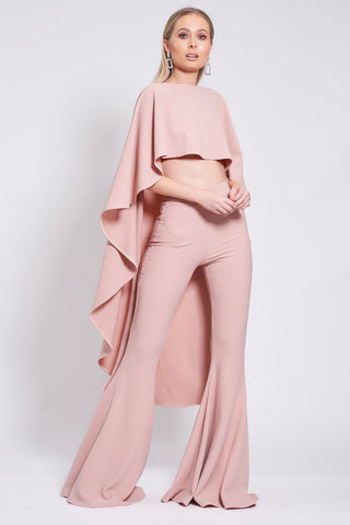 Dusty Pink Roxy Suit