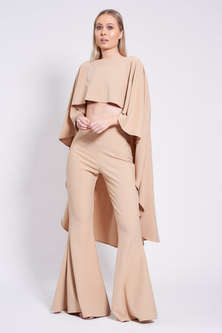 Nude Roxy Suit