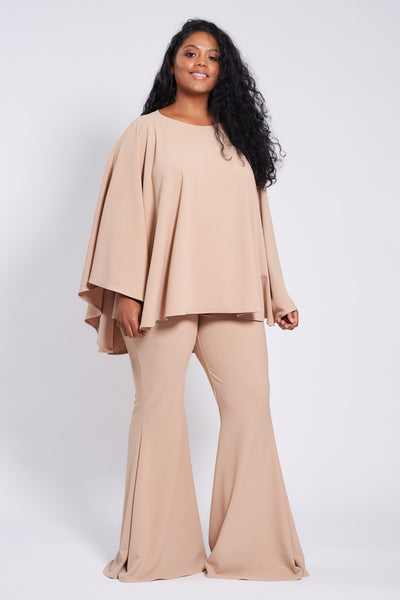Nude Longer Length Taba Suit