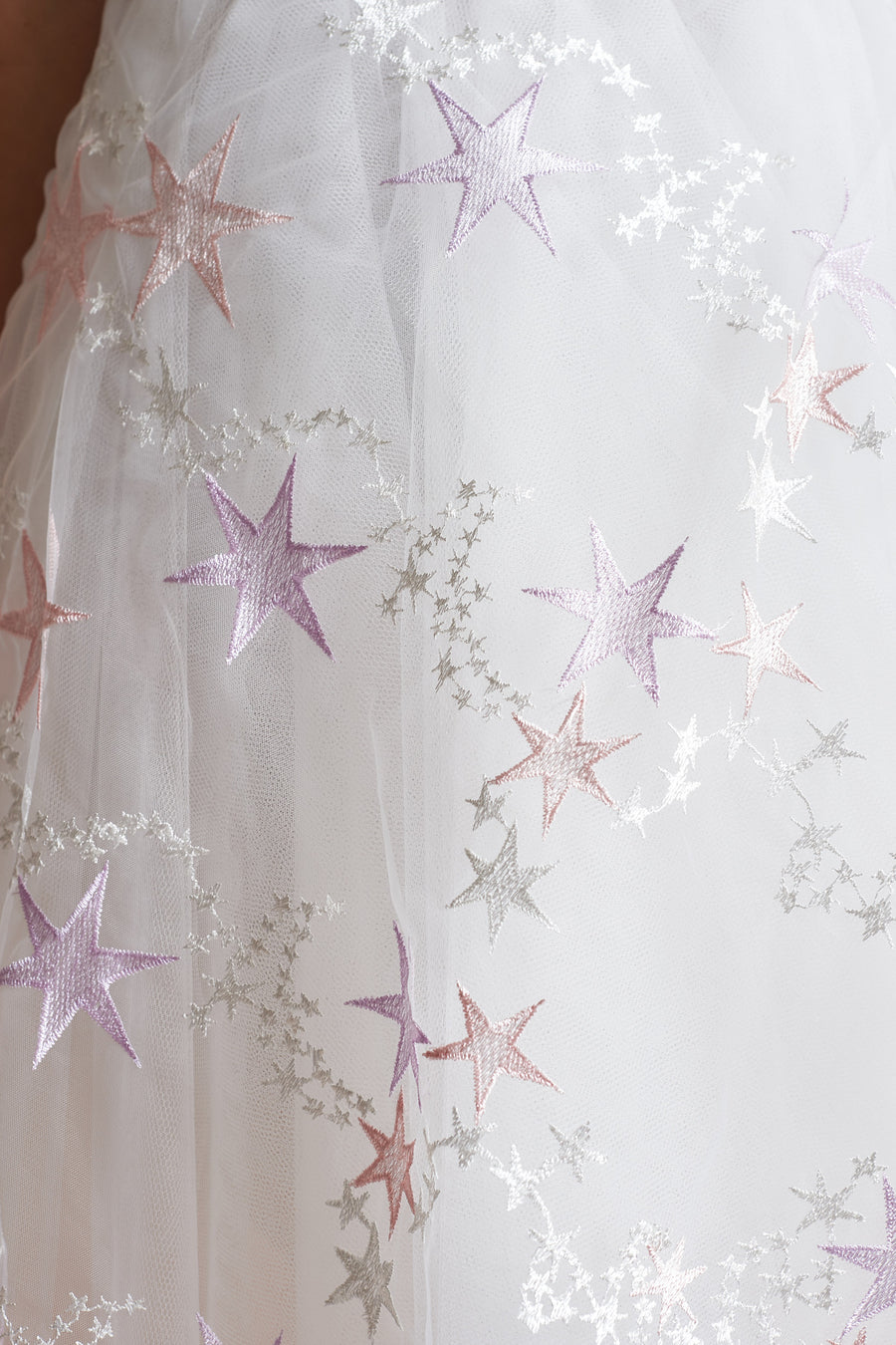 Pastel Star Tulle Dress