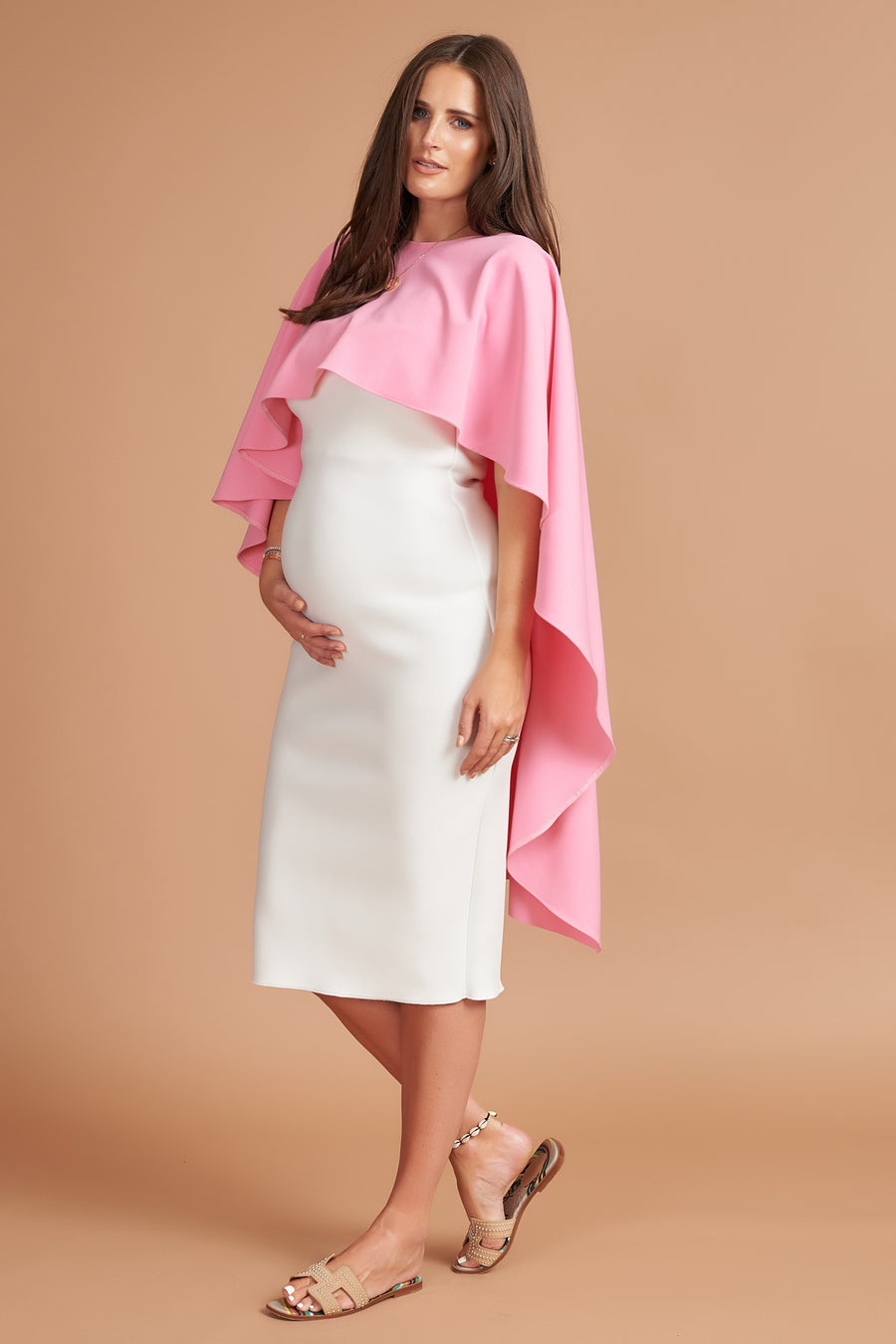 Rose Pink Maternity Roxy Top