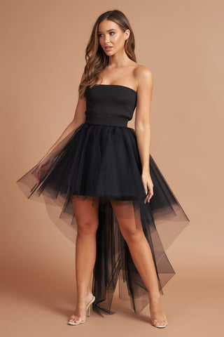 Black Roxy Tulle Dress