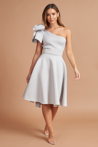 Silver Bow Astala Dress