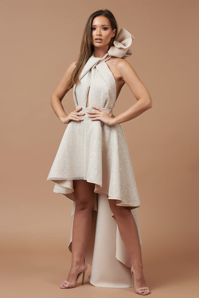 Sparkle Halterneck Roxy Dress