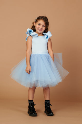 Holly Baby Blue Tulle Dress