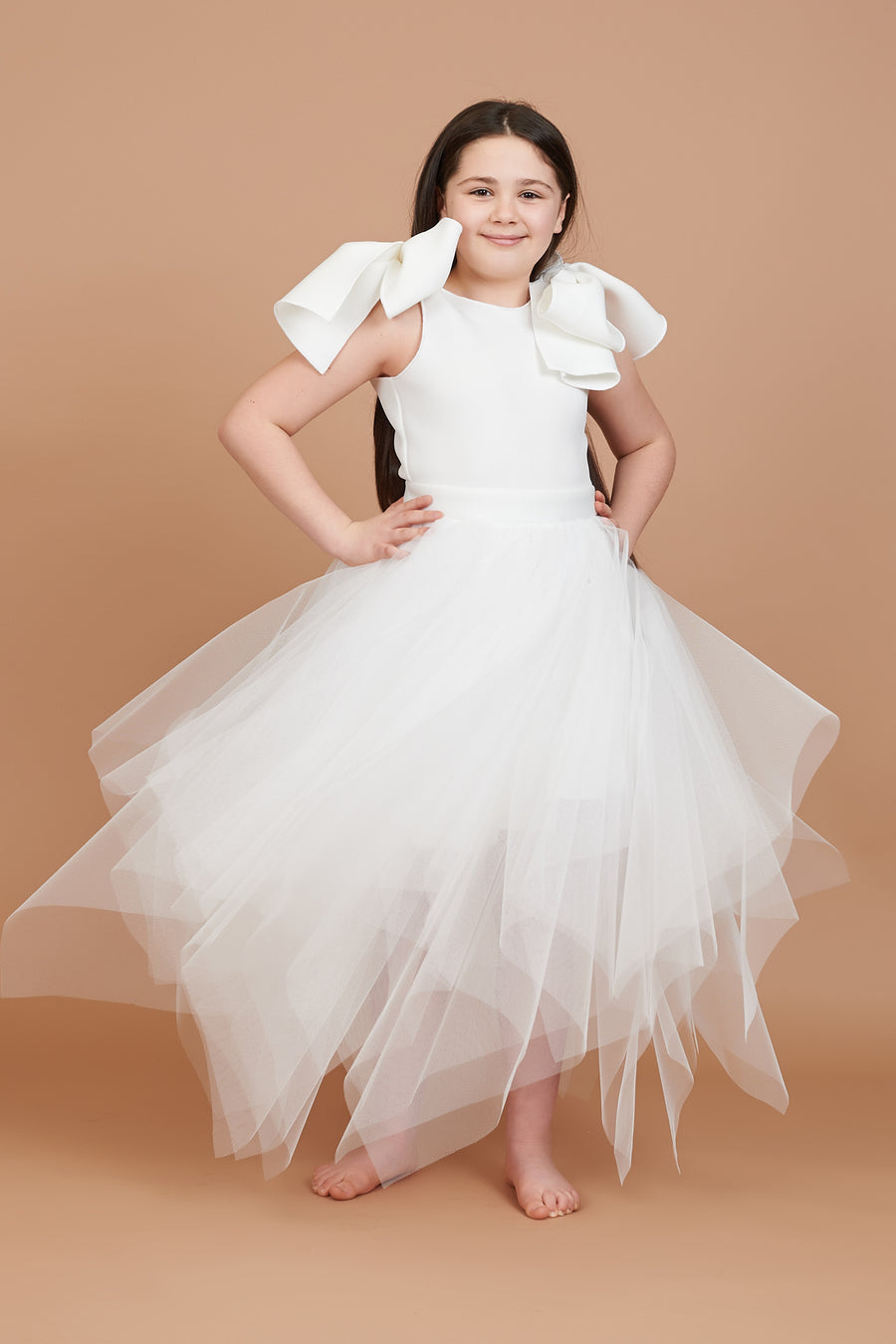 Daisy Choppy Tulle Dress