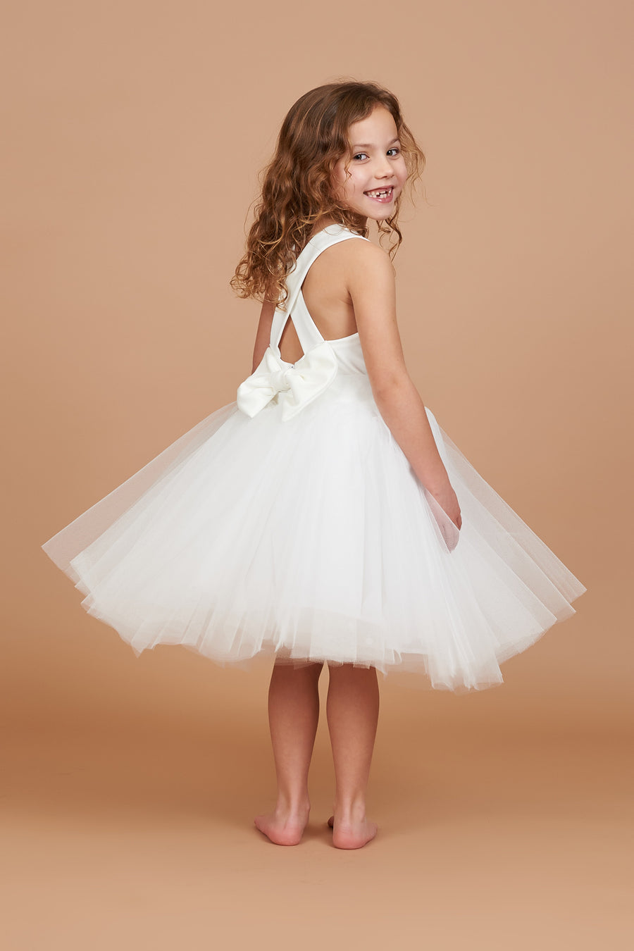 Kaya Ivory Tulle Dress