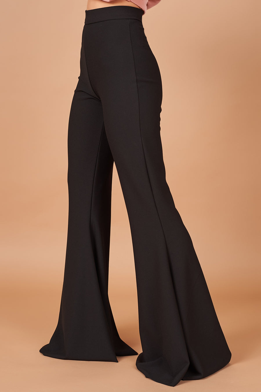 Black Stretch Flares