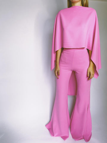 Rose Pink Taba Suit