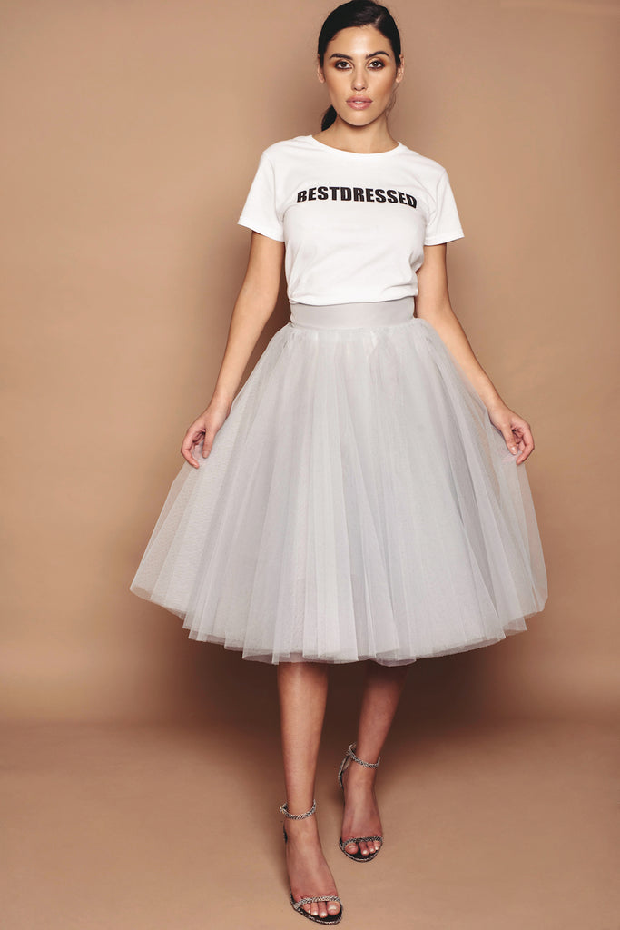 d76a37ec39 Silver Tulle Skirt – Kirsty Doyle Fashion
