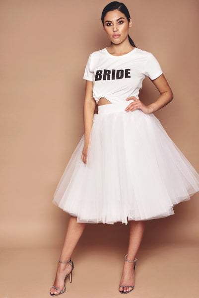 Bride Tee and Tulle Set