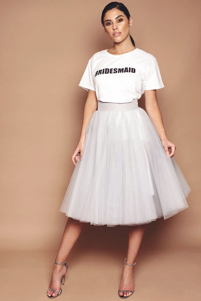 Bridesmaid Tee and Tulle Set