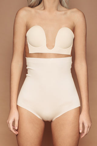 Nude High Waisted Knicker