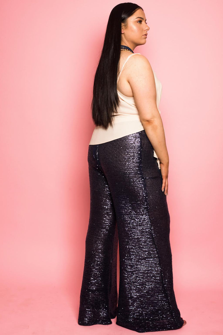 Navy Mermaid Trousers