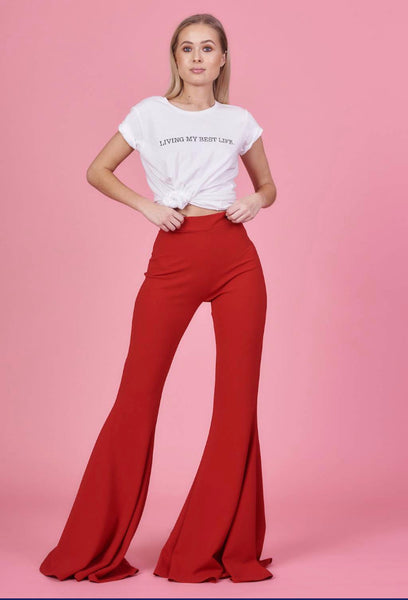 Red Stretch Flares