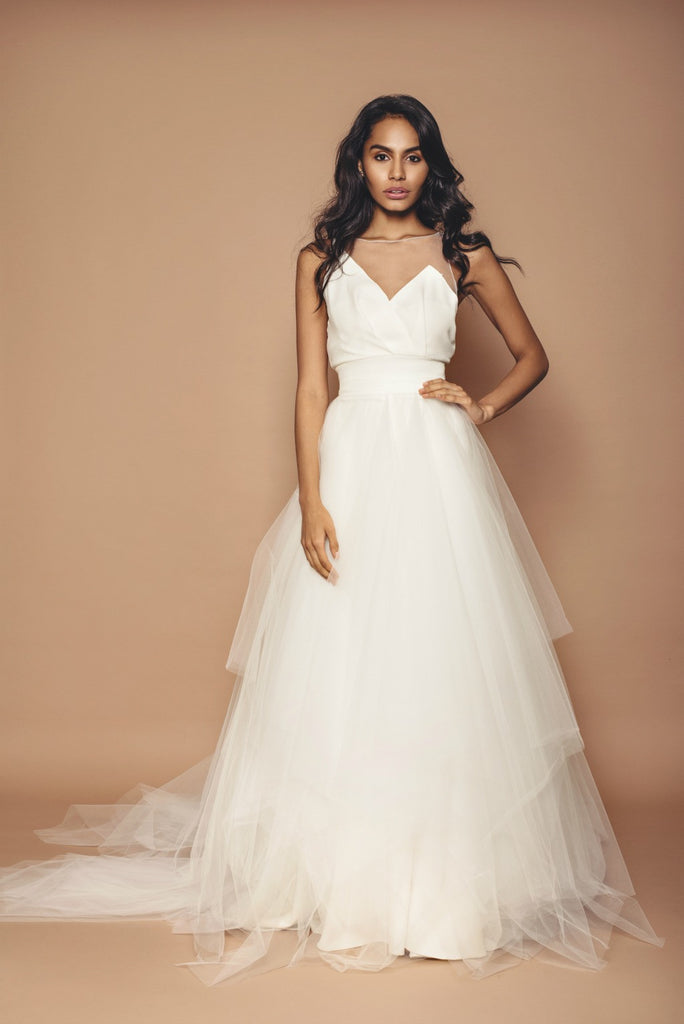 a79c4f6d5b Tulle Bridal Skirt - Full – Kirsty Doyle Fashion
