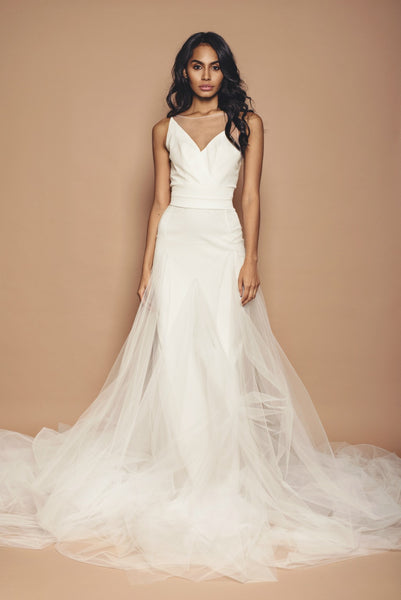 Tulle Bridal Panelled Skirt
