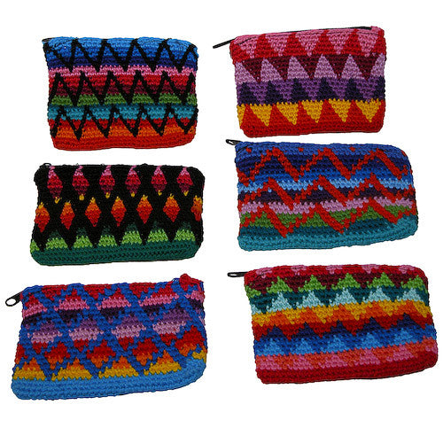 Crochet Coin Purse from Guatemala - Green Valley Packaging