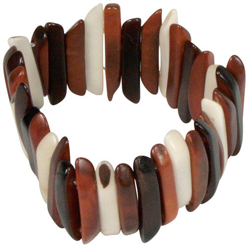 Tagua Stick Bracelet from Colombia