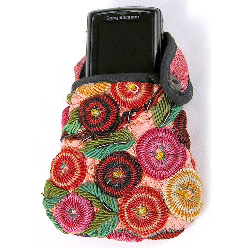 Rococo Cell Phone Pouch from Guatemala