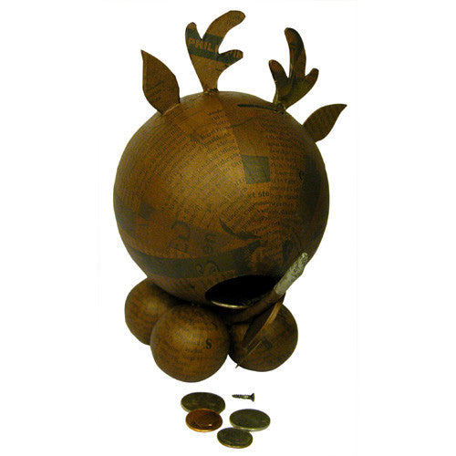 Paper Mache Reindeer from the Philippines