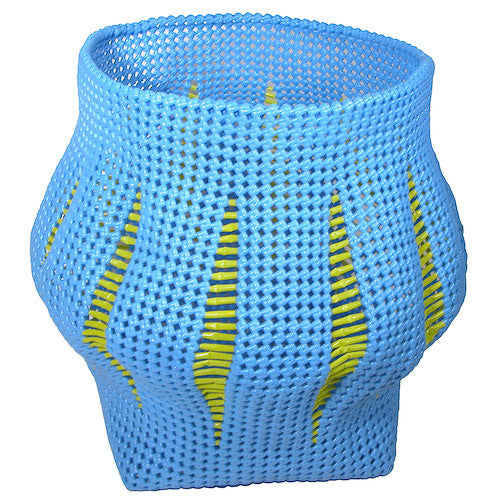 Recycled Plastic Basket from India