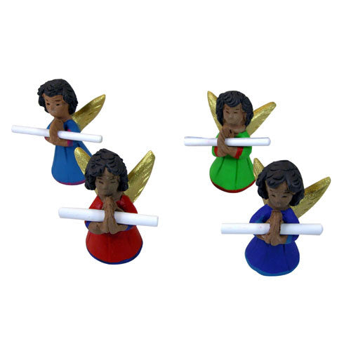 Ceramic Angel Messangers from Guatemala - Green Valley Packaging
