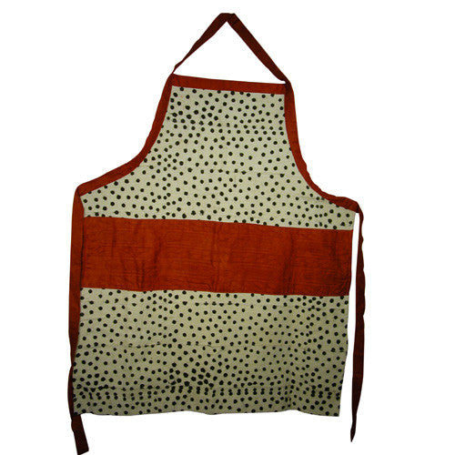 Dotted Mud Cloth  Aprons  from Mali Chic - Green Valley Packaging