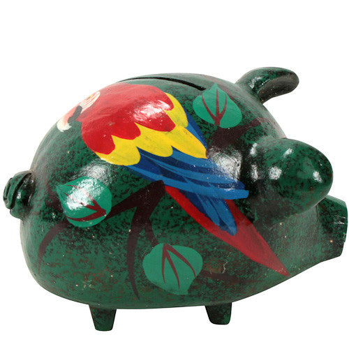 Ceramic Piggy Banks from Haiti - Green Valley Packaging