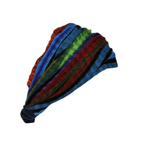 Rainbow Head Scarf from Guatemala