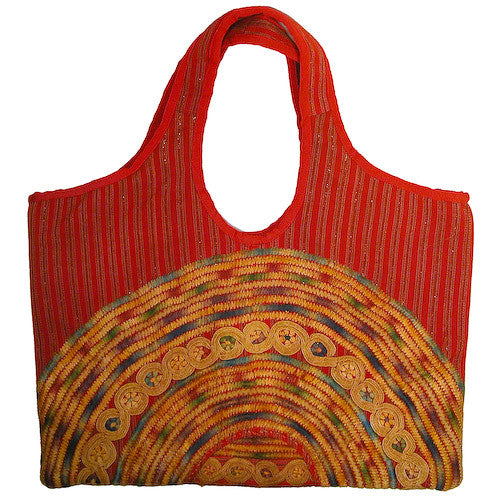 Large Joyabaj Handbag from Guatemala - Green Valley Packaging