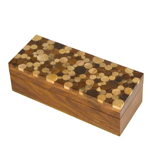 Wooden Pencil Box from India