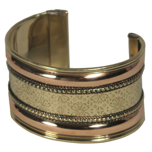 Copper & Brass Cuff from India - Green Valley Packaging