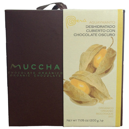 Organic Chocolate Golden Berries from Peru - Green Valley Packaging