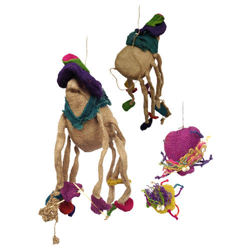 Jute Spider Figurines from Bolivia - Green Valley Packaging